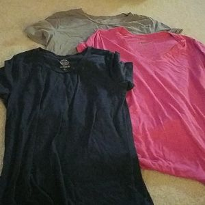 Lot of 3 ladies fitted large size tees